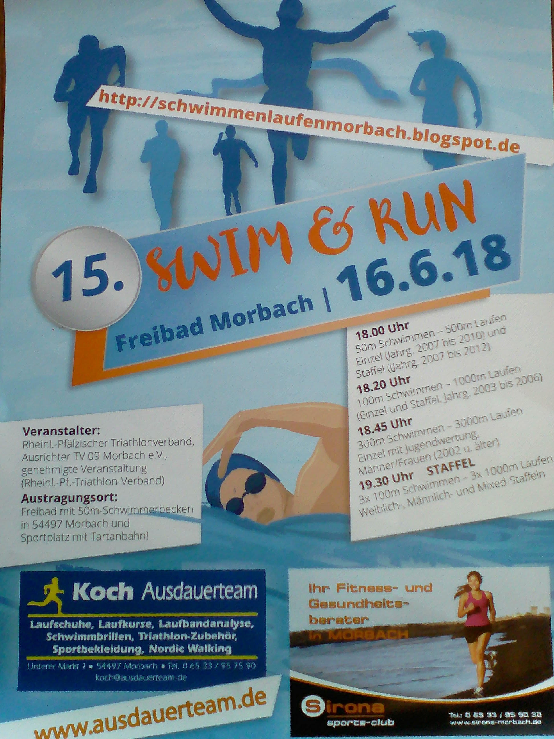 Morbacher Swim and Run am 16.6.2018